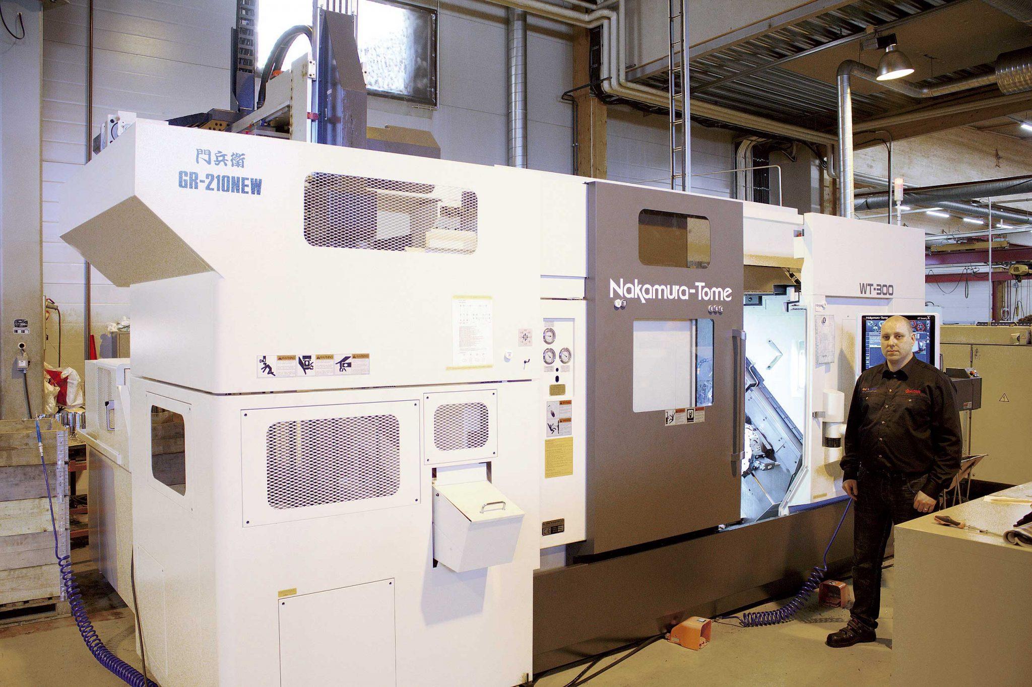 Fluiconnecton tuotanto sai uutta potkua Nakamuran automaation ansiosta